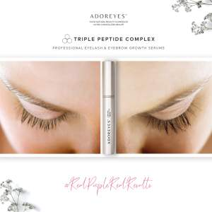ADOREYES Lash Serum Before and After